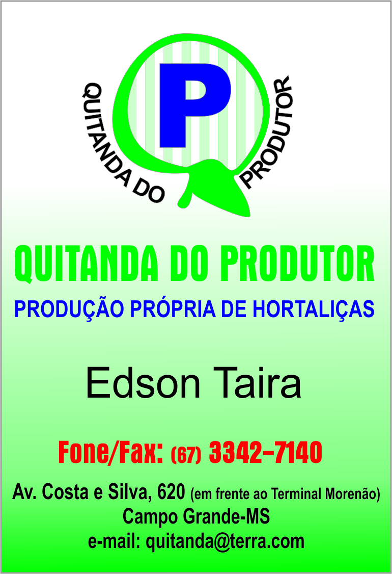Quitanda do produtor